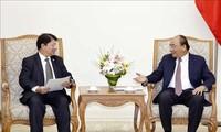 PM Nguyen Xuan Phuc menerima Menlu Nikaragua