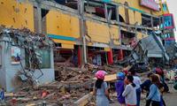 Gempa bumi berkekuatan 6,4 derajat di Indonesia