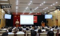 """Konferensi informasi tentang tema: """"Ekonomi Viet Nam pada latar belakang internasional baru, masalah-masalah dan prospek"""""""