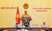 Persidangan ke-38 Komite Tetap MN Viet Nam berakhir