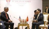 KTT ASEAN ke-35: Deputi PM, Menlu Pham Binh Minh menerima Penasehat Keamanan Nasional AS, Robert O'Brien