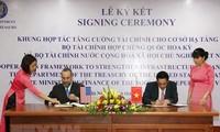 AS melakukan kerjasama memperkuat keuangan bagi infrastruktur Viet Nam