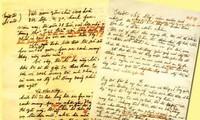 """Pameran dokumen tentang """"tulisan-tulisan dan perjuangan revolusioner yang dilakukan oleh Presiden Ho Chi Minh"""""""