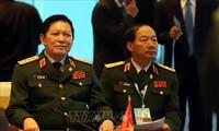 Pembukaan Konferensi Menhan ASEAN yang terbatas: Kerjsama keamanan yang berkesinambungan