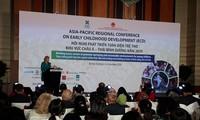 Konferensi tentang pengembangan anak-anak secara menyeluruh kawasan Asia-Pasifik tahun 2019