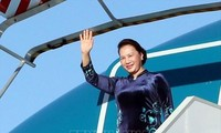 Ketua MN Nguyen Thi Kim Ngan berangkat melakukan kunjungan resmi  di Federasi Rusia dan Republik Belarus