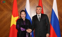 Ketua MN Nguyen Thi Kim Ngan mengakhiri kunjungan di Federasi Rusia dan Republik Belarus