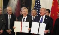 Permufakatan perdagangan tahap I AS-Tiongkok membongkar  sumbu ledak bentrokan