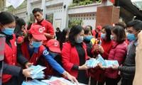 Lembaga Palang Merah Viet Nam membantu pencegahan dan penanggulangan wabah nCoV