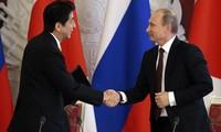 Jepang mendorong perundingan tentang perjanjian damai dengan Rusia
