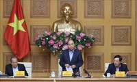 PM Nguyen Xuan Phuc memimpin sidang Badan Pengarahan Nasional tentang Pencegahan dan Pemberantasan wabah Covid-19