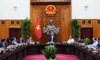 PM Nguyen Xuan Phuc melakukan temu kerja dengan pimpinan teras Provinsi Ha Tinh