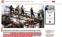 Rumania memuat artikel dalam bahasa Viet Nam untuk membantu pekerja Viet Nam mencegah dan menghindari wabah Covid-19