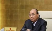 PM memimpin rapat Badan Harian Pemerintah tentang pemberantasan wabah Covid-19
