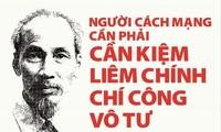 Konsisten dengan Pikiran Ho Chi Minh tentang pembangunan moral revolusioner dari Partai Komunis Viet Nam