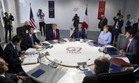 Pimpinan AS dan Australia melakukan pembicaraan telepon tentang kemungkinan memperluas G-7