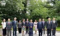 Kedutaan Besar Viet Nam di Swiss menerima jabatan Ketua Komite ASEAN