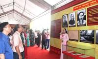 """Pameran tematik """"Riwayat hihup dan usaha Presiden Ton Duc Thang"""