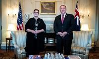 Australia dan AS membahas masalah Laut Timur  Konferensi AUSMIN 2020