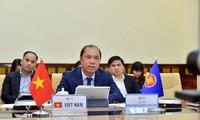 Se celebra la reunión virtual de los Altos Funcionarios de la Asean