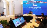 Jumpa pers internasional tentang hasil AMM 53 dan semua konferensi terkait