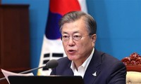 Presiden Republik Korea mengharapkan dua bagian negeri Korea mengadakan kembali dialog dan kerjasama