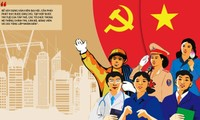 Dokumen Kongres Nasional ke-13 Partai Komunis Viet Nam Mengkristalisasi Kearifan dan Hasrat Bangsa