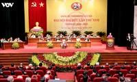 Sekjen, Presiden Negara Nguyen Phu Trong menghadiri dan membimbing Kongres XVII Organisasi Partai Komunis Kota Ha Noi
