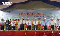 Mengawali pembangunan Stasiun Pemancar Gelombang Siaran Trung bo Selatan: Suara Viet Nam memperluas peliputan di Laut Timur