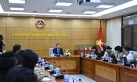 Konferensi Evaluasi Sementara masa 5 Tahun Pelaksanaan Instruksi 45-CT/TW Diadakan di Kota Ha Noi