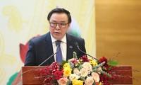 Beritahukan Kongres Nasional ke-13 Partai Komunis Viet Nam kepada Korsp Diplomatik dan Organisasi Internasional.