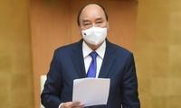 PM Nguyen Xuan Phuc Minta Agar Pencegahan dan Penanggulangan Wabah  Ditingkatkan