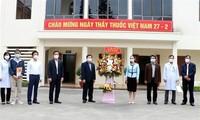 Berterima kasih kepada Para Nakes  Melawan Covid-19 di Provinsi Hai Duong
