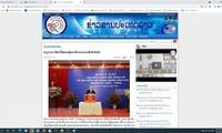 Koran Laos Meliput secara Menonjol Keberhasilan Pemilihan Anggota MN dan Anggota Dewan Rakyat di Viet Nam