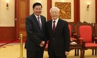 Sekjen, Presiden Republik Demokratik Rakyat Laos Akan Lakukan Kunjungan Persahabatan Resmi ke Vietnam
