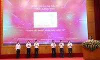 Unjuk Muka Pokja untuk Membantu Proyek Investasi di Provinsi Quang Ninh