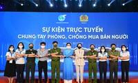 Viet Nam Perhatikan, Jamin Imigrasi yang aman, Cegah dan Berantas Perdagangan Orang