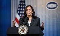 Wakil Presiden AS, Kamala Harris Berangkat Kunjungi Singapura dan Viet Nam