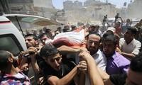 Israel continues air strikes in Gaza
