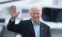 ທ່ານປະທານາທິບໍດີ ອາເມລິກາ Joe Biden ເລີ່ມເດີນທາງໄປປະຕິບັດງານຢູ່ ເອີີຣົບ