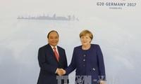 Состоялись переговоры между премьером Вьетнама и канцлером Германии