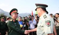 Localidades vietnamitas y chinas celebran actividades de intercambio en la frontera común
