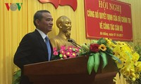 Nombran al nuevo secretario del Comité partidista de Da Nang