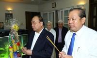 Gobierno vietnamita homenajea a ex líderes del país