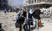 Rebeldes sirios negocian con ONU el cese al fuego en Ghouta Oriental