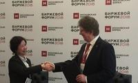 Hanói y Moscú logran memorando de entendimiento en transacciones bursátiles