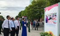Expone fotos conmemorativas del 70 aniversario del movimiento de emulación patriótica