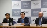 Continúan agenda de viceprimer ministro de Vietnam a Brasil