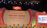 Premio Ton Duc Thang enaltece innovaciones técnicas