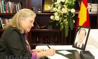 Continúan actos de homenaje al presidente Tran Dai Quang en Estados Unidos y Chile